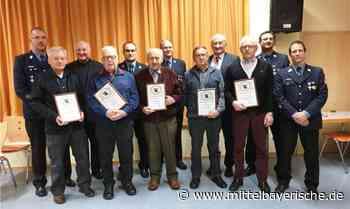 FF Thalmassing ehrt treue Mitglieder - Mittelbayerische