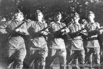 """As Podolsk cadets fought against SS Panzer division """"Reich"""" 
