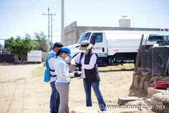 Entrega Municipio tinaco de 10 mil litros en la colonia Jorge Barousse - Omnia