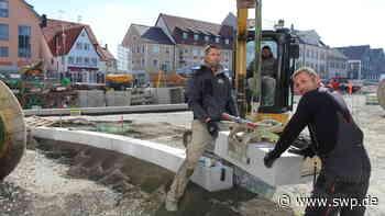 Großbaustelle in Hechingen: Obertorplatz-Baufortschritt von Corona-Krise kaum getrübt - SWP