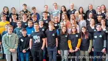 Schrobenhausen: Europa zu Gast in Schrobenhausen - Im Rahmen des Erasmus+-Projekts 'Life' bekam die Franz-von-Lenbach-Schule Besuch aus dem Ausland - Vor der Corona-Krise - donaukurier.de