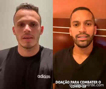 Renê e Rômulo abraçam campanha para ajudar hospital de Picos contra o novo coronavírus - Na Esportiva - Fábio Lima - Cidadeverde.com