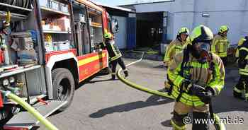 Stichflamme aus einer Gasflasche löst Großeinsatz in Bad Oeynhausen aus | Regionales - Mindener Tageblatt