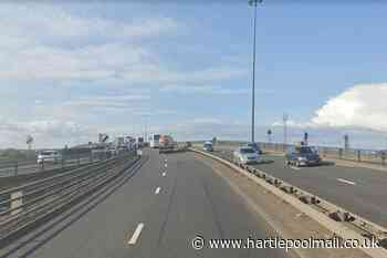 Weekend closure of A19 Tees flyover postponed as roadworks are rescheduled - Hartlepool Mail