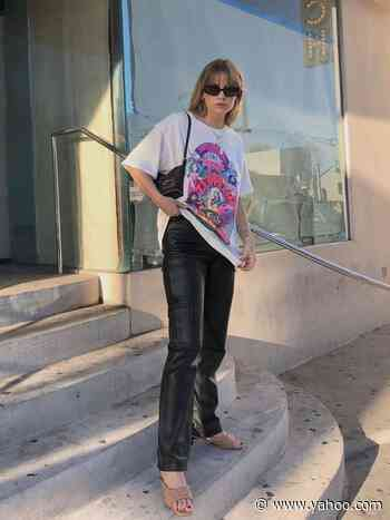 The 20 Best Oversize Tees and the Fashion-Girl Outfit Inspo to Go With Them - Yahoo Lifestyle