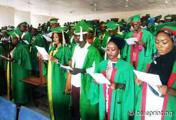 FCE Okene matriculate 957 students for NCE programme - Blueprint newspapers Limited