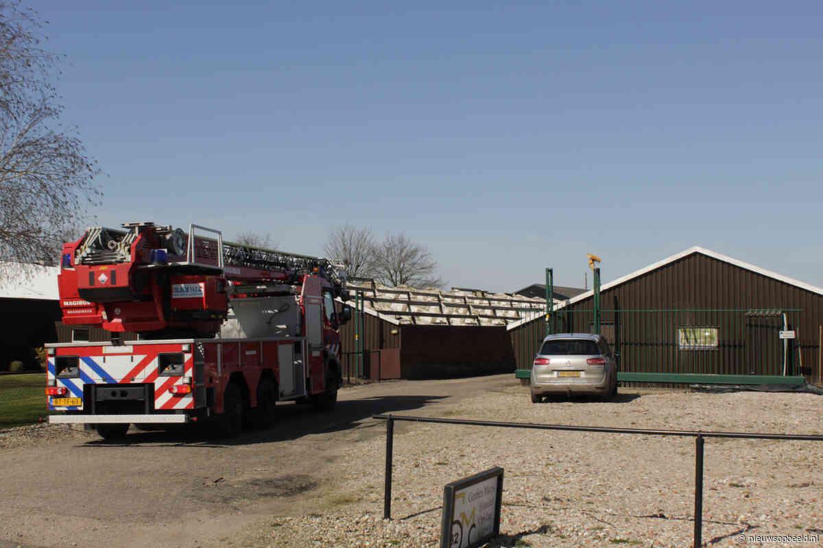 Stal vol rook na brand in ventilatiesysteem Hoenkoopse Buurtweg Haastrecht - Nieuws op Beeld