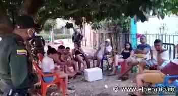 En video | Sorprenden a jóvenes que ingerían licor en Mahates pese a cuarentena - El Heraldo (Colombia)