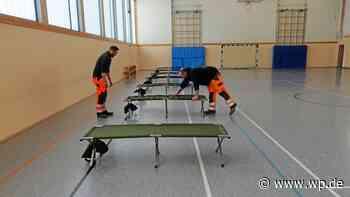 Trotz Kritik: Corona-Quarantänehalle in Menden soll bleiben - WP News