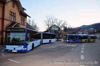 Schienenersatzverkehr im Elz- und Simonswäldertal ändert sich ab Montag: Weniger Busse und teilweise geänderte Fahrzeiten - Waldkirch - Badische Zeitung
