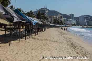 Desierta playa Pie de la Cuesta por Covid-19 - Enfoque Informativo