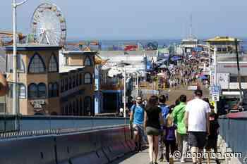 Insólito comparten un vídeo que muestra la playa de Santa Mónica totalmente sola - La Opinión