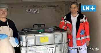 Corona - Corona: Fass mit Desinfektionsmittel für Johanniter-Krankenhaus - Lübecker Nachrichten