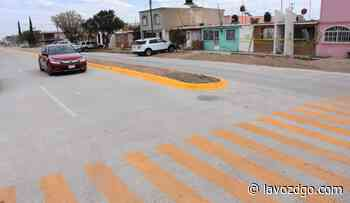 Pavimenta Secope calles en Guadalupe Victoria - La Voz de Durango
