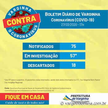 Casos suspeitos de Covid-19 não param de crescer em Varginha, agora são 57 casos sendo monitorados - Varginha Online