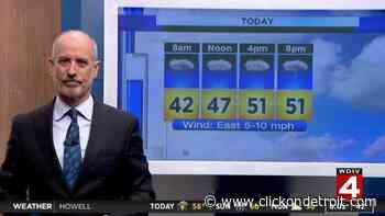 Metro Detroit weather forecast: Rainy Saturday with thunder and lightning - WDIV ClickOnDetroit