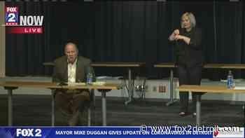 Detroit Mayor Mike Duggan announces Chief James Craig has coronavirus - FOX 2 Detroit
