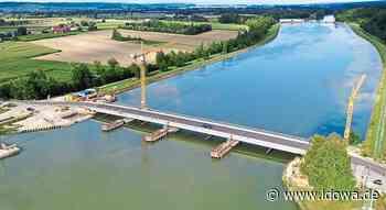 Neue Brücke in Niederviehbach: Freie Fahrt auf dem Jahrhundertbauwerk - idowa