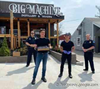 Big Machine Distillery Crafts Hand Sanitizer For Local First Responders