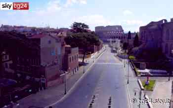 Coronavirus, Roma è deserta: le immagini riprese da un drone. FOTO - Sky Tg24