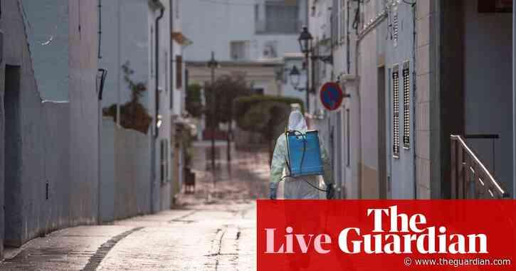 Coronavirus live news: Spanish authorities hope cases peaking, as global numbers exceed 600,000
