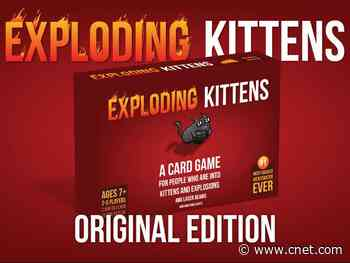 Exploding Kittens is having a site-wide 30% off sale, and it's more fun than it sounds - CNET