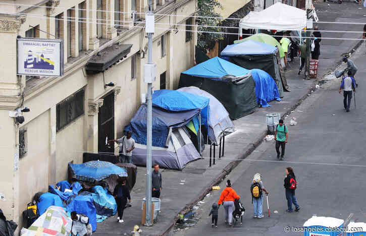 Report: Coronavirus Could Kill Hundreds Of Homeless People In LA County