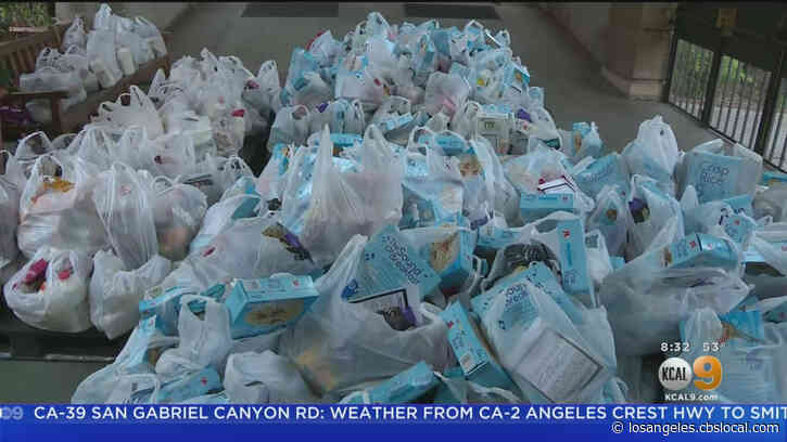 Free Grocery Giveaway Helps Families Impacted By Coronavirus Pandemic