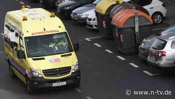 Angriff auf Corona-Patienten:Spanier bewerfen Krankenwagen mit Steinen - n-tv NACHRICHTEN