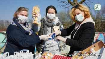 Soziales: Initiative verteilt Lunchtüten für Obdachlose