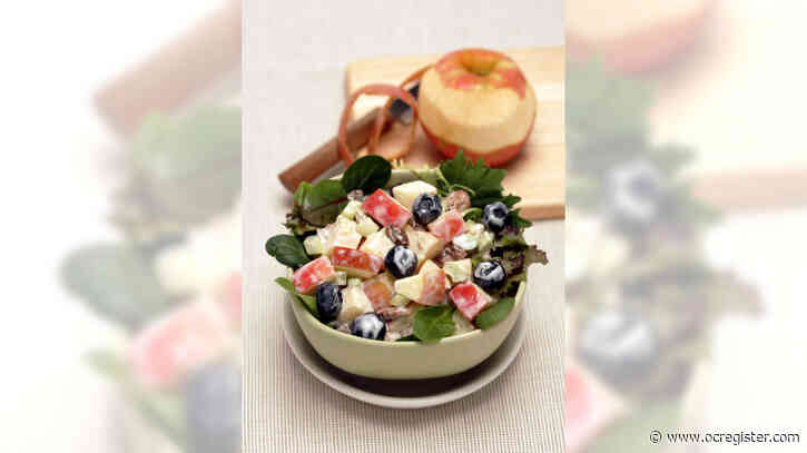 Recipe: Waldorf salad with blueberries and toasted pecans is a treat anytime