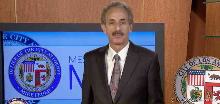 LA City Attorney Warns Residents Against Fake At-Home Coronavirus Test Scams