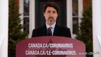 No more domestic travel by plane or train for those showing coronavirus symptoms, Trudeau says