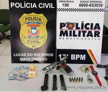 Acusado de ter matado adolescente é detido em Lucas do Rio Verde - MT Agora