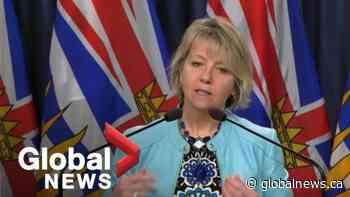 Coronavirus outbreak: B.C. reports 1 new death and 92 new cases