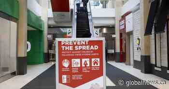COVID-19 pandemic limits Calgary malls to essential services only
