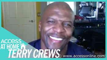 Terry Crews Reveals He & Dwayne Johnson Trade Workout Tips | #AccessAtHome - Access
