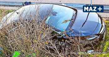 Dahlewitz - Tödlicher Unfall auf der B96 – Auto fliegt meterweit durch die Luft - Märkische Allgemeine Zeitung