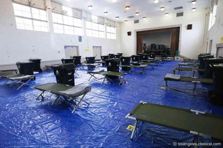 Coronavirus: Long Beach Opens Temporary Housing At Silverado Park