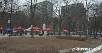 Coronavirus: Cabot Square day shelter opens, employees still waiting for masks, gloves