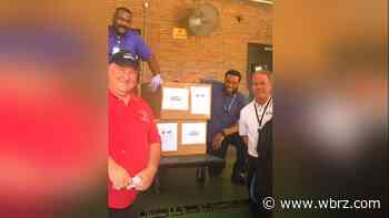 Ford drivers deliver 2,000 supplies to Baton Rouge hospital