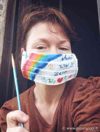 Calangianus, le mascherine fatte a mano dall'artista Patrizia Pizianti - Gallura Oggi