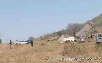 Se desploma avioneta en Tepalcatepec - El Sol de Zamora