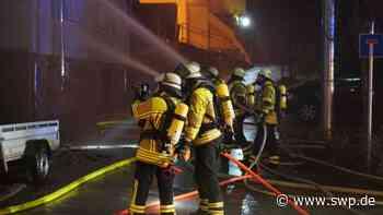 Brand Aichtal: Hoher Sachschaden durch Dachstuhlbrand - SWP