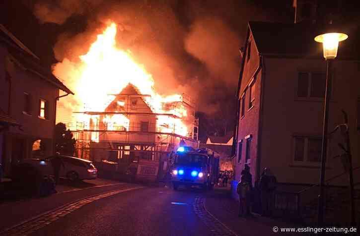 Aichtal: Brand verursacht mehrere hunderttausend Euro Schaden - esslinger-zeitung.de