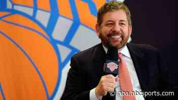 Knicks' owner James Dolan tests positive for coronavirus