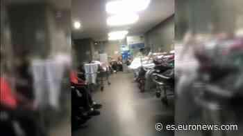 Llamada de socorro desde el Hospital Universitario de Albacete, completamente desbordado - Euronews Español