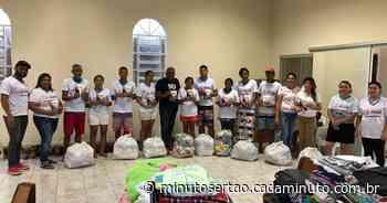 10 famílias atingidas pela enchente em Santana do Ipanema são adotadas - Cada Minuto