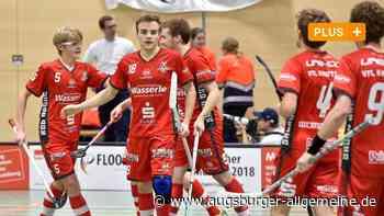 Floorball: Der Punkt könnte für die Red Hocks Kaufering noch Gold wert sein - Augsburger Allgemeine
