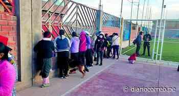 Jugaban futsal en pleno Estado de Emergencia en San Antonio de Padua - Diario Correo